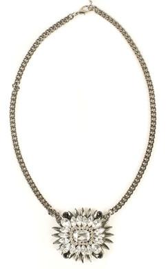 Vera Diamantie Flower Necklace