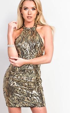 Sienna Sequin Bodycon Dress