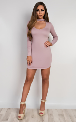 Juniper V Neck Bodycon Dress