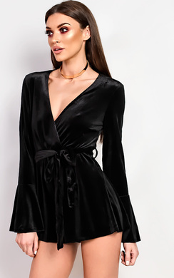 Karla Deep V Playsuit