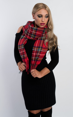 Yeala Soft Checked Scarf