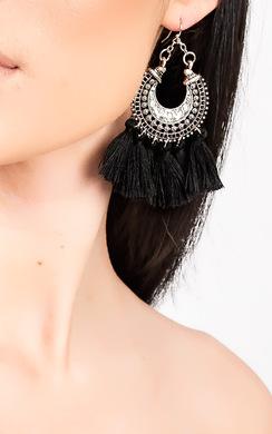 Andrea Tassel Earrings
