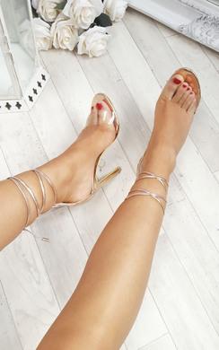 Ria Clear High Heels
