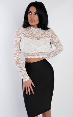 Willia Lace Crop Top