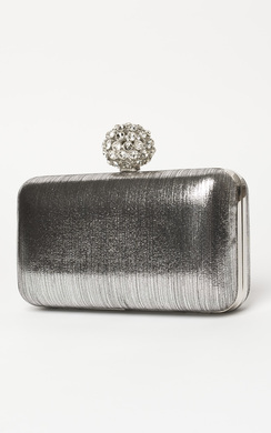 Avery Diamante Clutch Bag