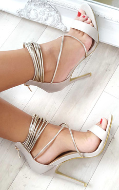 Anastasia Strappy High Heels