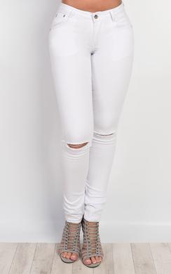 Galina Ripped Skinny Jeans
