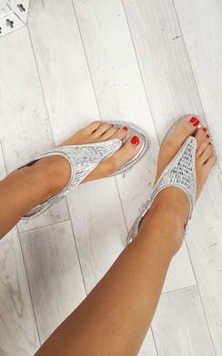 Carmen Embellished Sandals