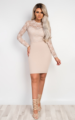 Viviana Lace Bodycon Dress
