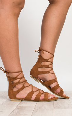 Asuka Lace-Up Sandals