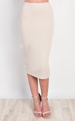 Halden Basic Midi Skirt