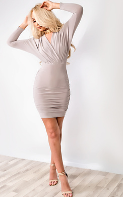 Kai Long Sleeved Bodycon Dress
