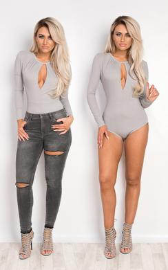 Shantae Ribbed Bodysuit