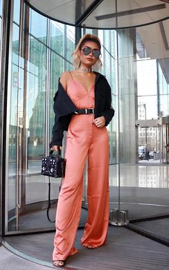 Mendes Satin Jumpsuit
