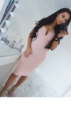 Brynna Bandage Bodycon Dress