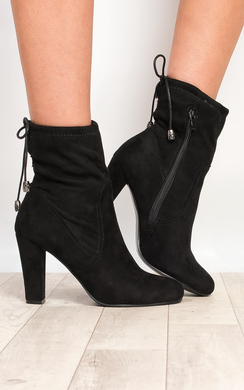 Cailyn Faux Suede Ankle Boots