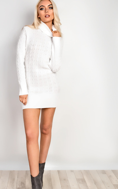 Tilly High Neck Knit Dress