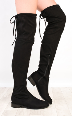 Lillia Flat Knee High Boots