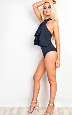 Aaliyah Choker Neck Bodysuit
