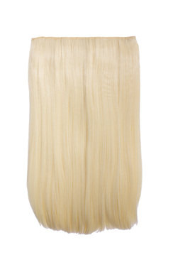 Intense Volume Clip In Hair Extensions - Flicky Pure Blonde