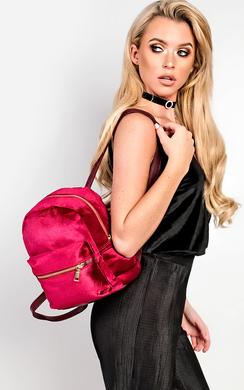 Sofie Velvet Bag
