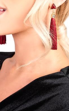 Maria Tassel Earrings