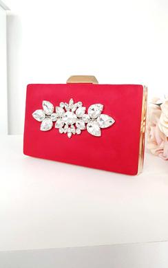 Sienna Embellished Clutch Bag