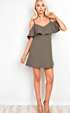 Beverly Frill Bodycon Dress