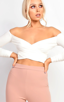 Kimmay Ruched Crop Top