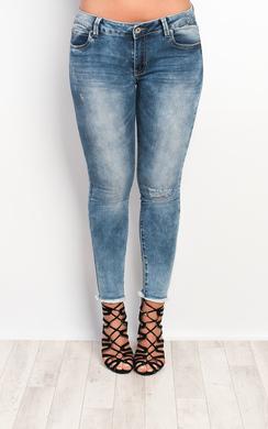 Lexi Frayed Skinny Jeans