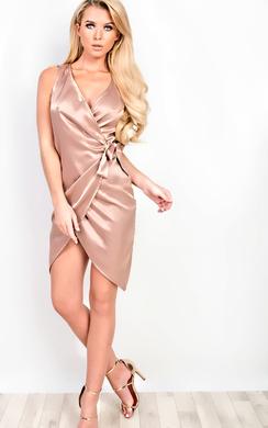 Angeline Asymmetric Dress