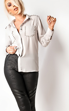 Alexis Studded Blouse