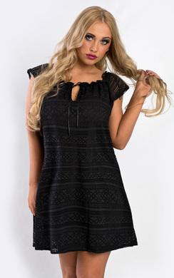 Holly Lace Shift Dress