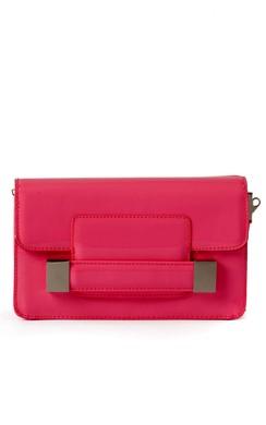 Eily Clutch Bag in Red