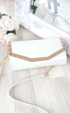 Nelly Studded Envelope Clutch Bag