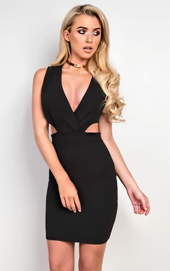 Sia Cut Out Bodycon Dress