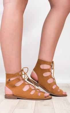 Cristal Gladiator Sandals