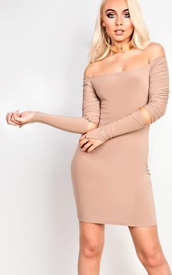 Carley Off Shoulder Bodycon Dress