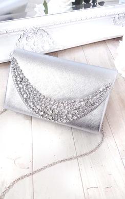 Joslin Embellished Clutch Bag