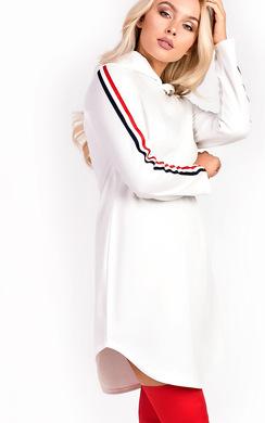 Kendra Striped Oversized Jumper Dress