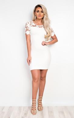 Emilia Lace Bodycon Dress