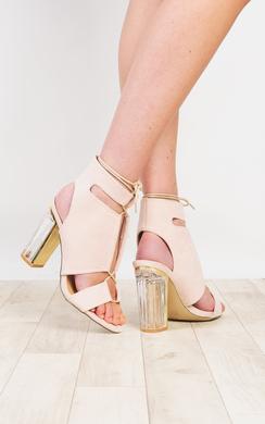 Siobhan Perspex High Heels