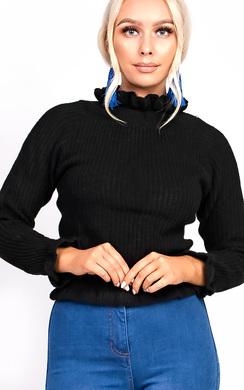 Josilee Frill Collar Jumper