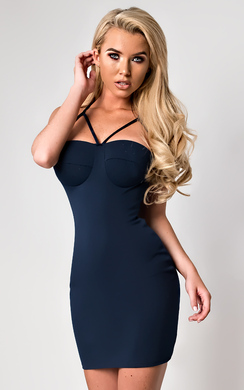 Sara Strappy Mini Dress