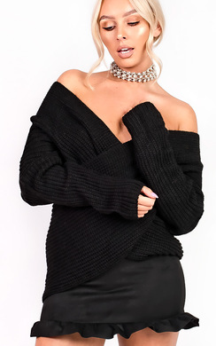 Josie Wrap Knit Jumper