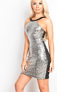 Liah Sequin Bodycon Dress