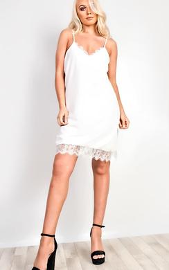 Tiffany Lace Cami Mini Dress