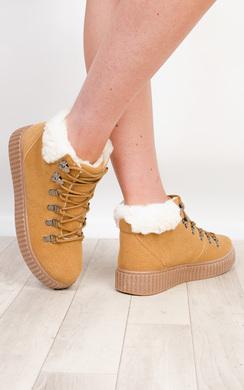 Scarlett Faux Suede Boots