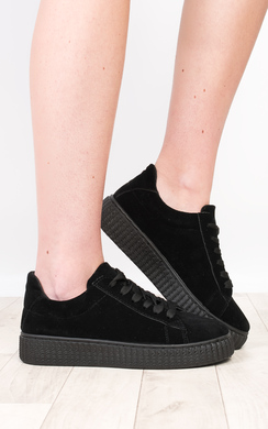 Marissa Faux Suede Platform Shoes