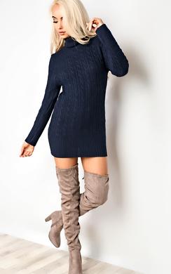 Tilly High Neck Knit Dress